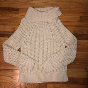 Kendall and Kylie Oatmeal Chunky Sweater